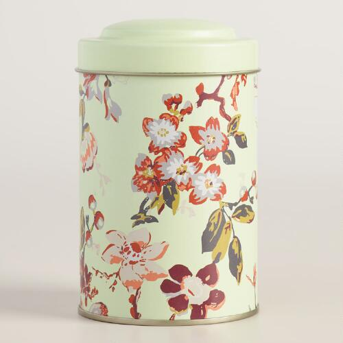 Grace Floral Tea Tins Set of 4