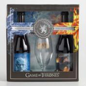 Ommegang Game of Thrones Gift Set with Glass