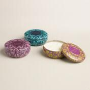Ikat Scented Candle Tin Collection