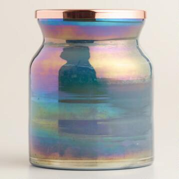 Vanilla Lustre Filled Jar Candle