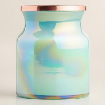 Coconut Macaroon Lustre Filled Jar Candle