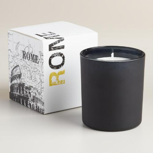 Orange Flower Rome City Range Jar Candle