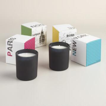 City Range Jar Candle Collection