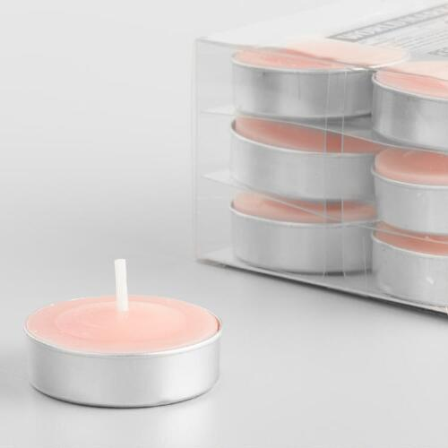 Peruvian White Tuberose Tealight Candles 12 Pack