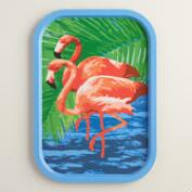 Flamingo Tin Tray