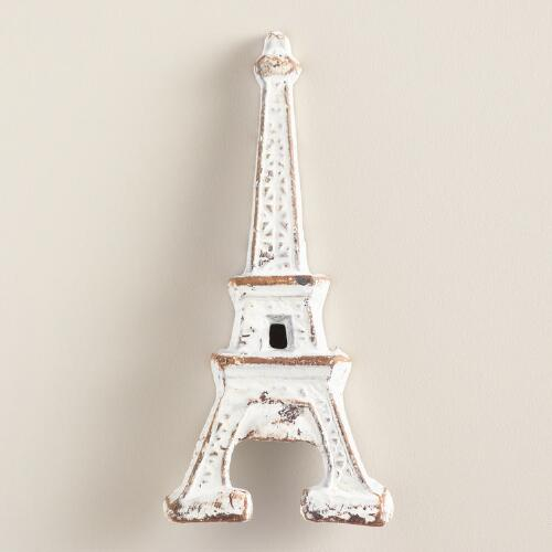 Whitewash Eiffel Tower Bottle Opener
