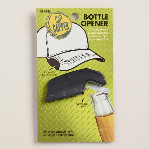 Black Cap Capper Bottle Opener