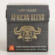 Cafe Viante African Espresso Single Serve Coffee
