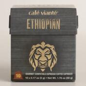 Cafe Viante Ethiopian Espresso Single Serve Coffee