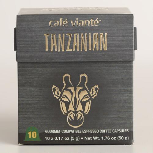 Cafe Viante Tanzanian Coffee Single Serve Coffee
