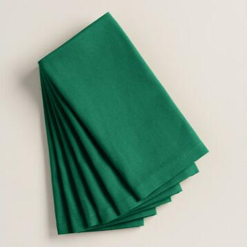 Verdant Green Buffet Napkins Set of 6