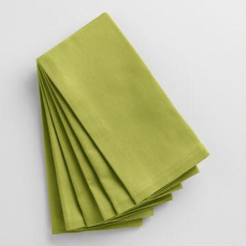 Oasis Green Buffet Napkins Set of 6