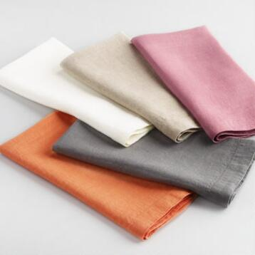 100% Linen Napkins Collection