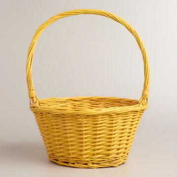 Yellow Ellie Easter Basket