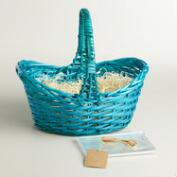 Blue Easter Basket Kit