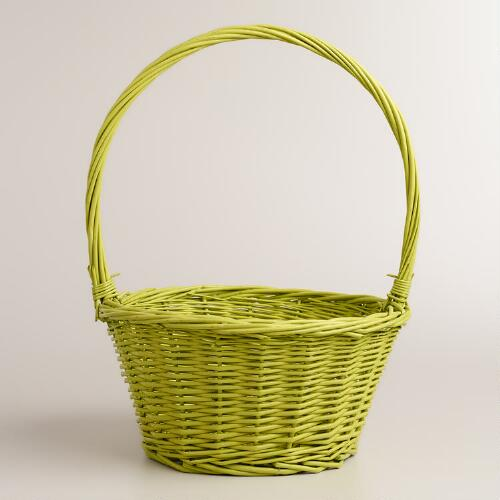 Green Ellie Easter Basket