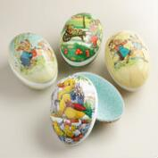 Extra Large Nestler Nesting Easter Eggs Set of 4