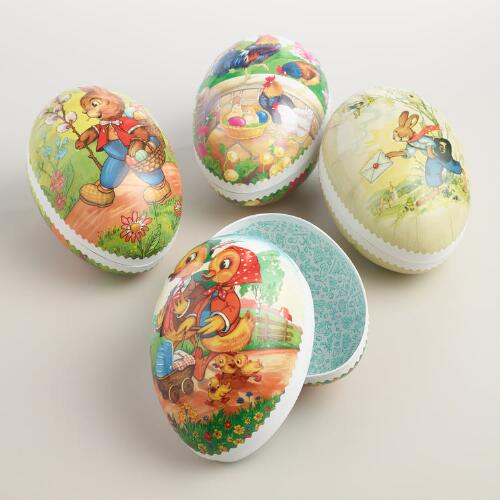 Large Nestler Nesting Easter Eggs Set of 4
