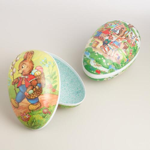 Jumbo Nestler Nesting Easter Eggs Set of 2