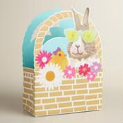 Medium Bunny Basket Gift Bags Set of 2