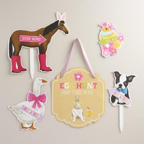 Painterly Bunny Easter Egg Hunt Kit