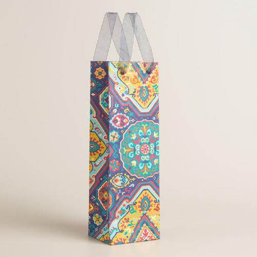 Jessica Handmade Wine Bags Set of 2