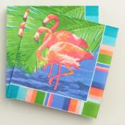 Flamingo Havana Lunch Napkins 20 Count