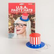 Uncle Sam Paper Party Hats Set of 4