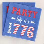 Party Like It's 1776 Beverage Napkins 20 Count