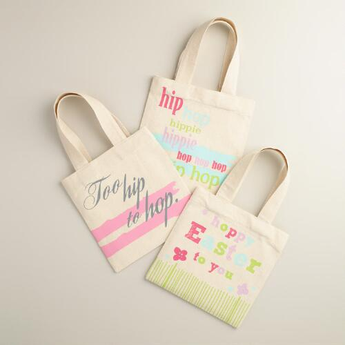 Hip Hop Canvas Tote Bag