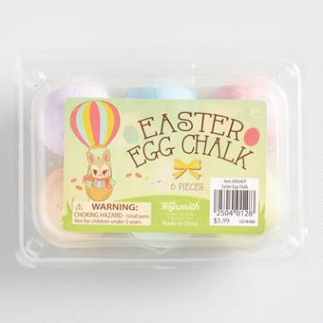 Easter Egg Sidewalk Chalk Set of 2
