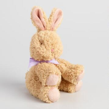 Brown Plush Bunny