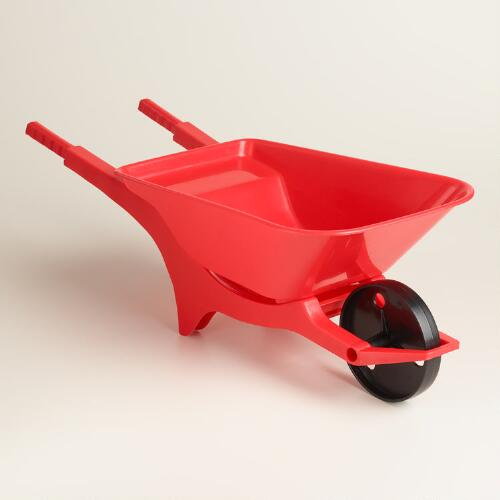 Kids Red Wheelbarrow