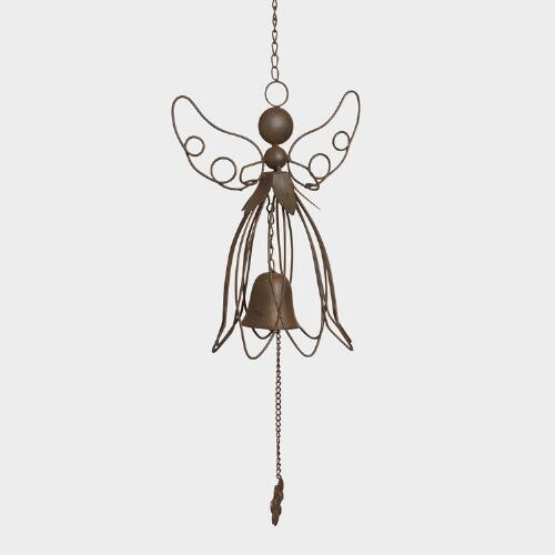 Cast Iron Angel Wind Chime