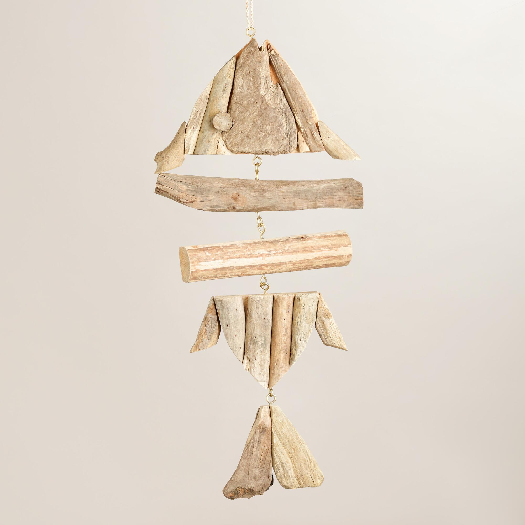 driftwood fish bones hanging decor world market