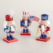 Patriotic Nutcrackers Set of 3