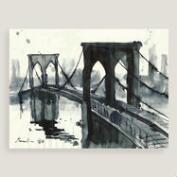 Brooklyn Bridge II by Emanuel Ologeanu