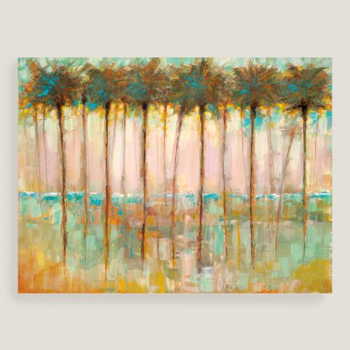 Palms at Dusk by Ruanne Manning