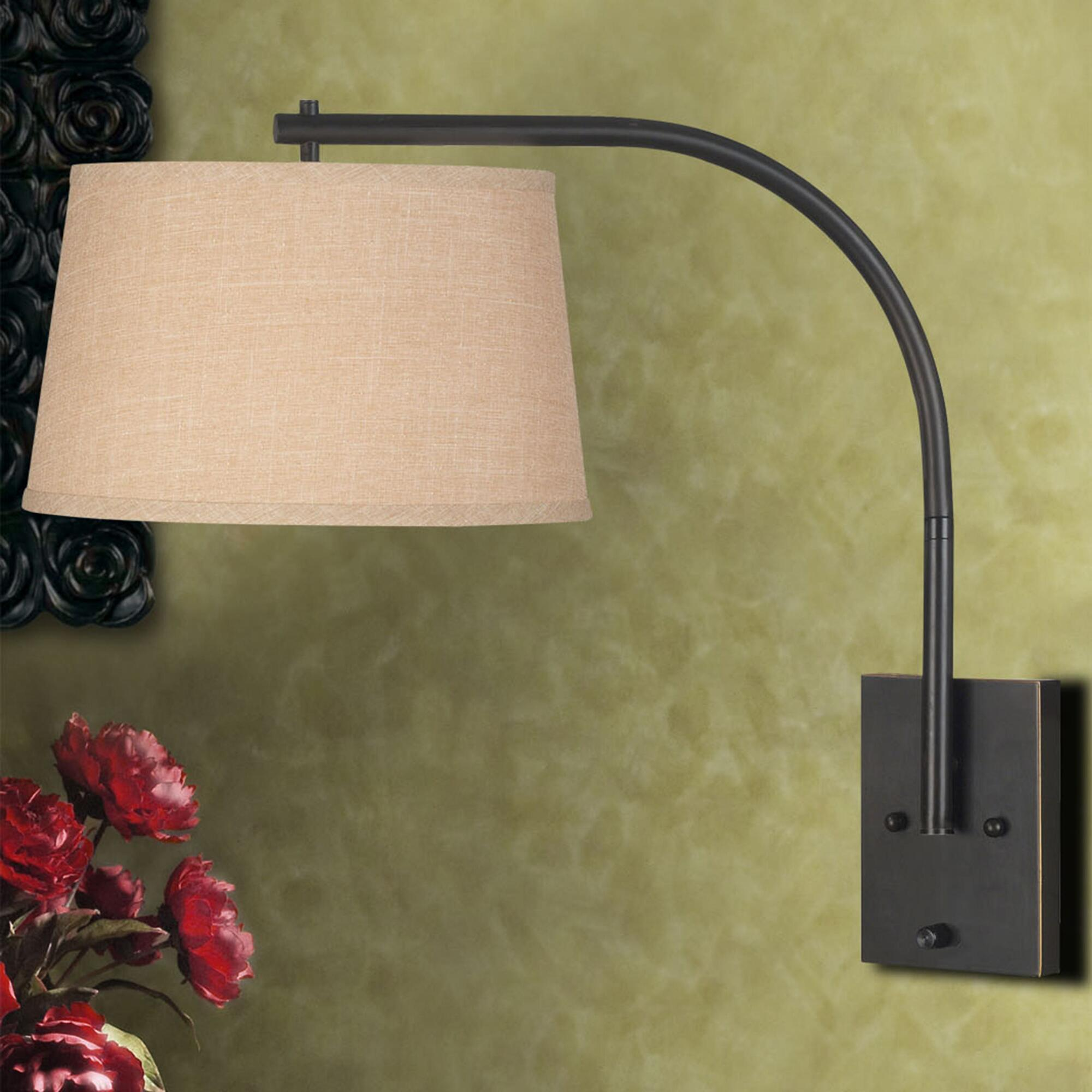 bronze sweep swing arm wall sconce rollover to zoom click to view larger bronze sweep wall swing