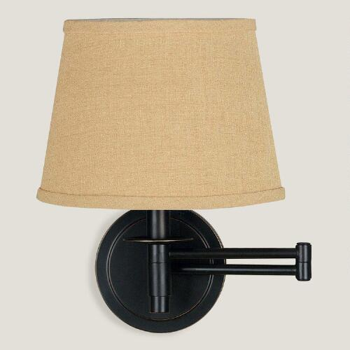 Bronze Dunwell Swing Arm Wall Sconce