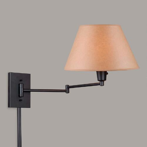 Black Minear Swing Arm Wall Sconce