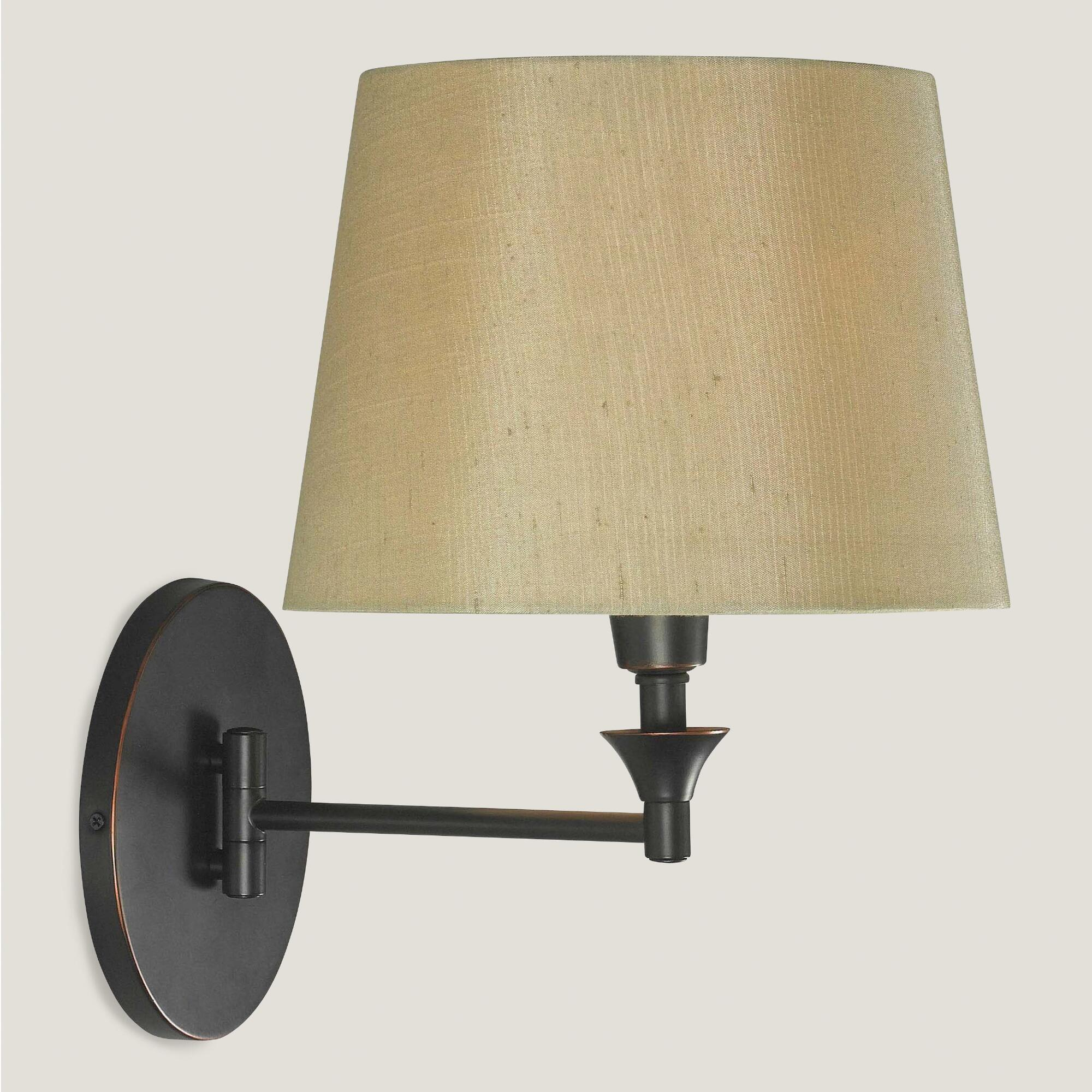 Wall Lamps Bronze : Bronze Lewiston Swing Arm Wall Sconce World Market