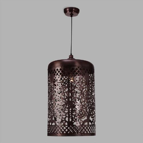 Antique Copper 3 Light Pendant Lamp