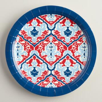 Large Anita Plates Set of 8