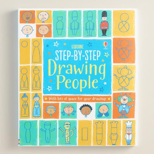 Drawing People Step by Step Book