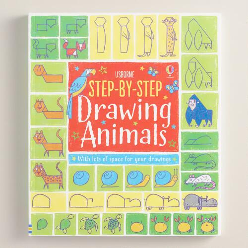 Drawing Animals Step By Step Book