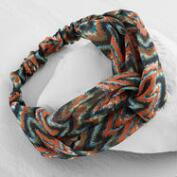 Warm Chevron Turban Headband