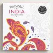 Vive Le Color! India Adult Coloring Book