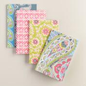 Paisley Boxed Notebooks 4 Pack