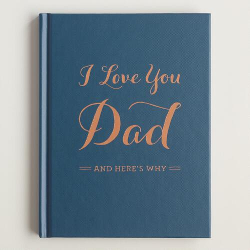 I Love You Dad Memory Book